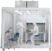 Soft Wall Clean Room